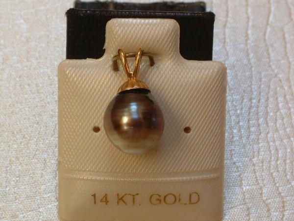 Exclusive Südsee Perle - Anhänger - in 14 Kt. Gold - 585 - EDEL !